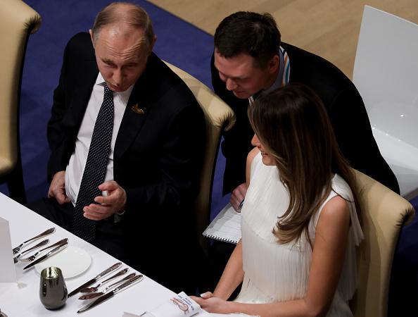 """Putin a dezvăluit ce a vorbit cu Melania Trump la Summitul G20. """"Era foarte interesată"""""""