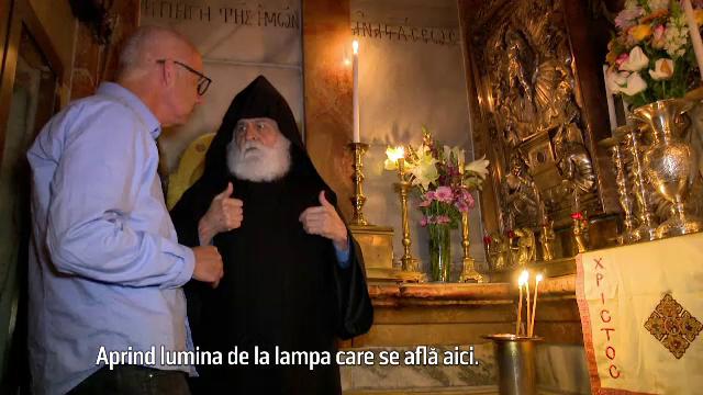Dezvaluirea unui episcop armean despre Lumina Sfanta: