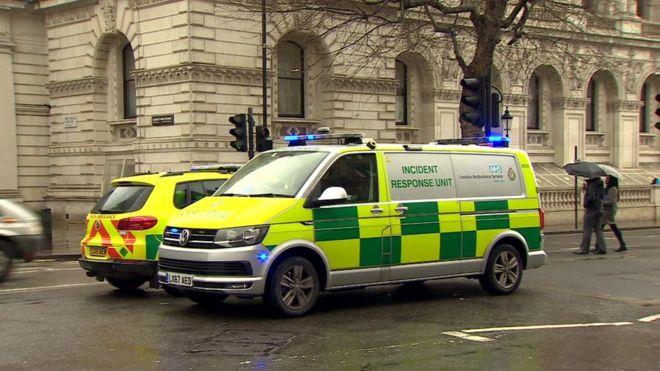 Colet suspect descoperit în parlamentul britanic; două persoane, spitalizate