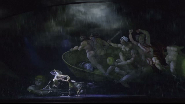 Tehnologia se îmbină cu arta la un spectacol dedicat frescelor din Capela Sixtină
