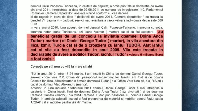"""Tăriceanu ar fi primit """"cadou"""" o vacanță în Turcia de la fostul șef ASF. Denunțul ajuns la procurori"""