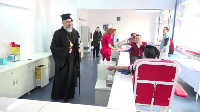 """Campanie de donare de sânge a Bisericii, la Alba Iulia. """"Dumnezeu spune să-ți iubești aproapele"""""""