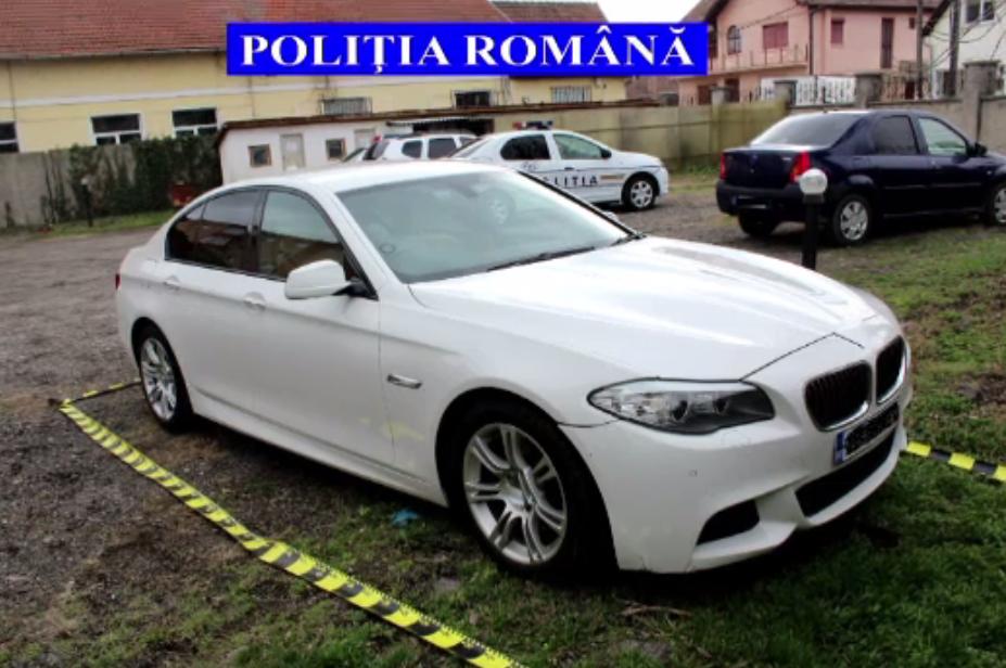 Descoperirea făcută de polițiștii din Alba când au controlat un șofer dintr-un bolid de lux