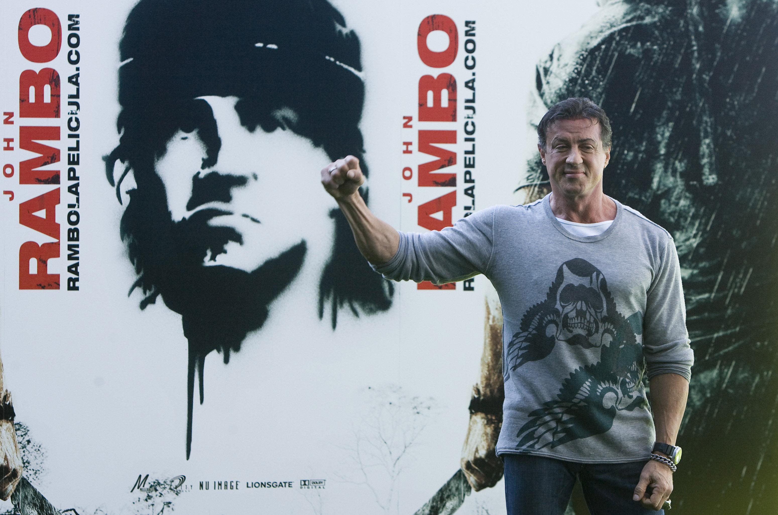Al 5-lea film din seria Rambo, cu Sylvester Stallone, va fi lansat pe 20 septembrie