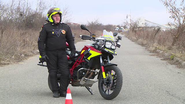 Salvatorii SMURD au început să intervină pe motociclete, din cauza traficului