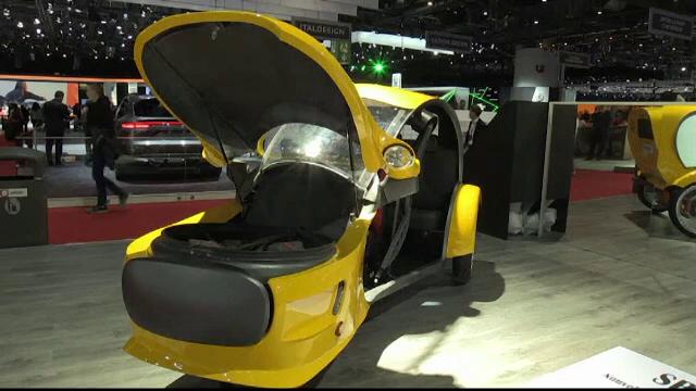Salonul auto de la Geneva 2019. Cum arată mașina cu ornamente din aur de 24 de carate
