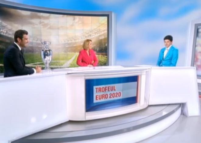 Trofeul Euro 2020, în studioul Ştirilor Pro TV. Belodedici și Mutu, invitații Andreei Esca
