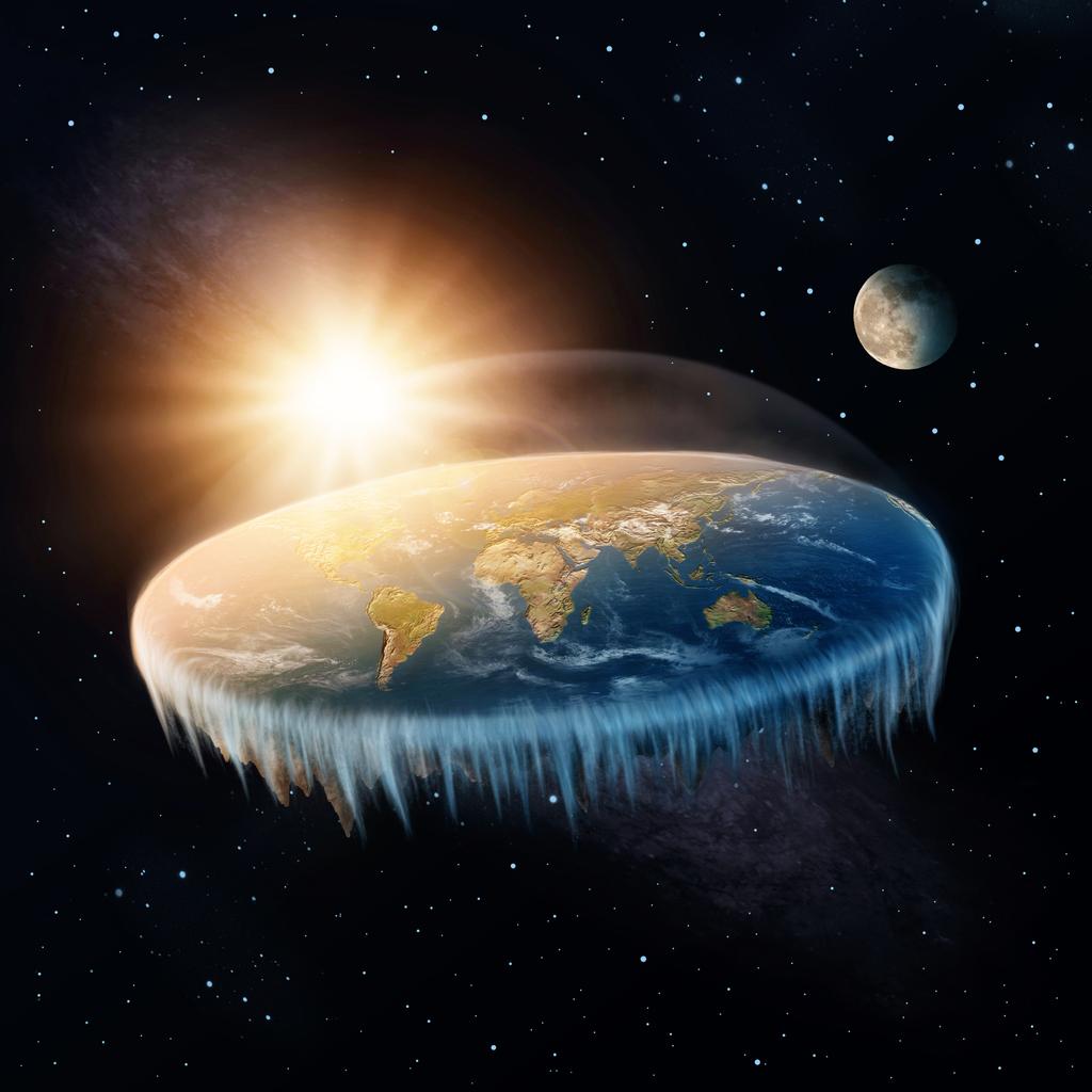 """Adepții """"Flat Earth"""" vor să călătorească în Antarctica pentru a ajunge la """"capătul lumii"""""""