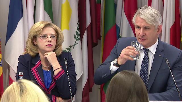 Raportul de țară al Comisiei Europene, motiv de ceartă între Teodorovici și Corina Crețu