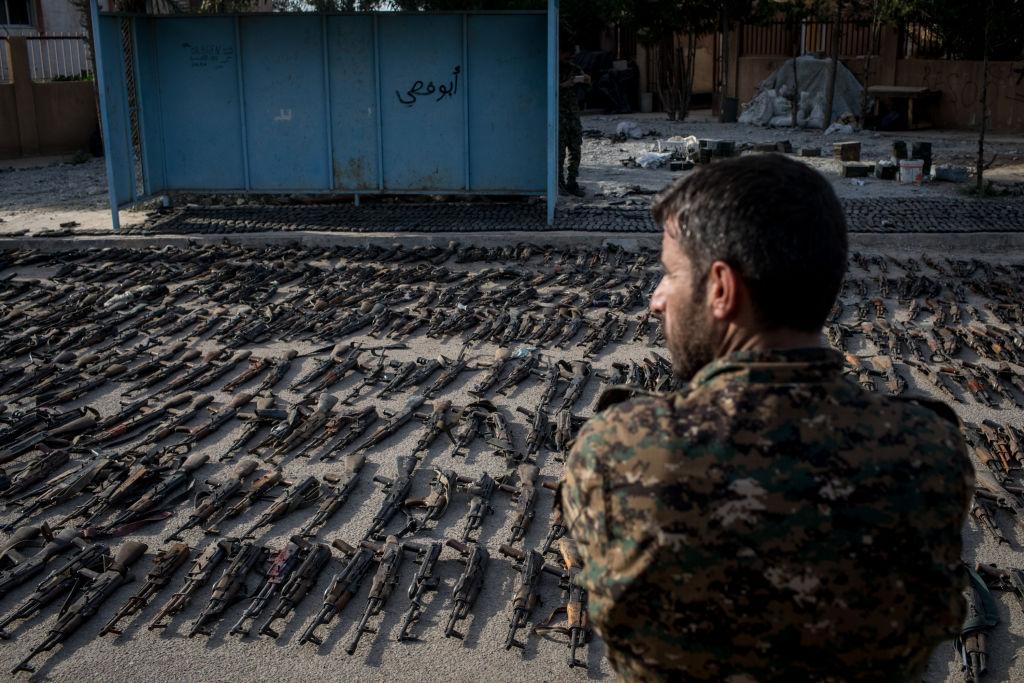 Kurzii au anunţat înfrângerea completă a Statului Islamic în Siria.