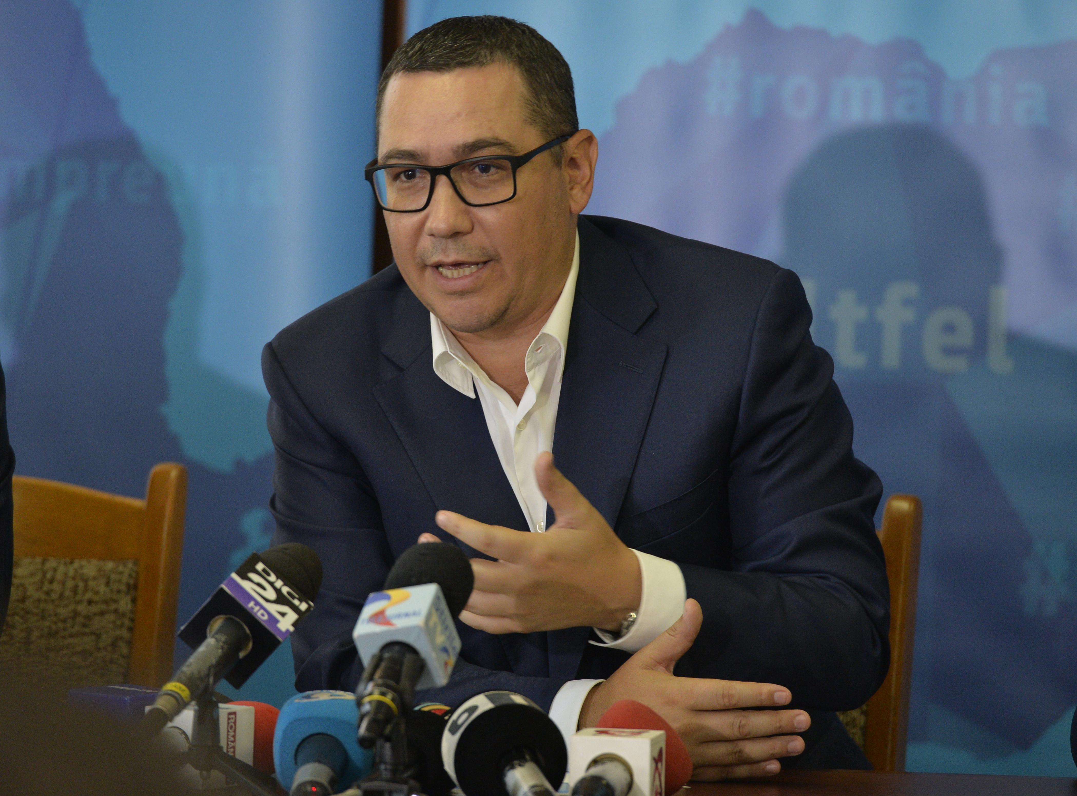 Victor Ponta, după căderea Guvernului: Pro România are 3 propuneri de premier