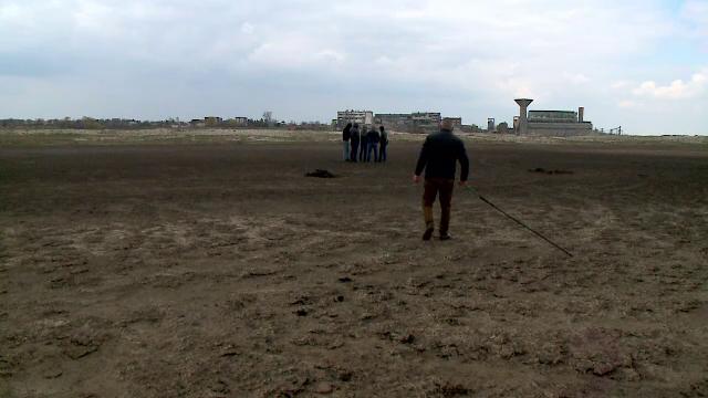 Dezastru ecologic în Deltă. Localnicii s-au îngrozit când au văzut ce iese din pământ