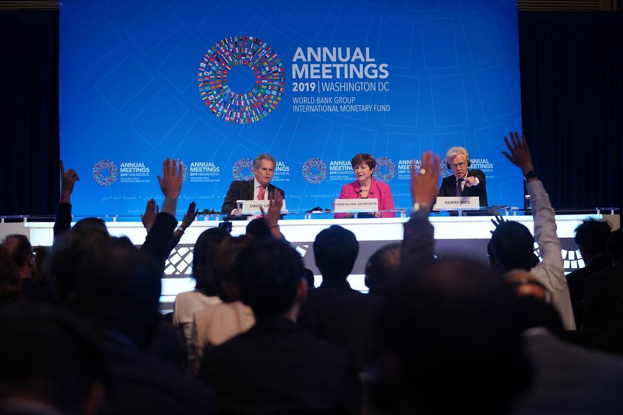 Reuniunile FMI şi Băncii Mondiale se vor desfăşura în format virtual, de teama coronavirusului