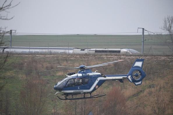 Un tren de mare viteză a deraiat în Franța, pe ruta Strasbourg-Paris. 21 de răniți
