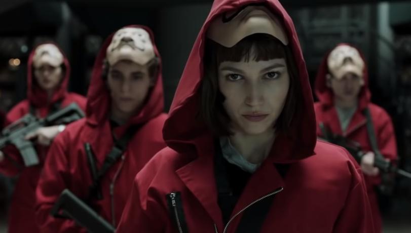 """Ultimul sezon """"La casa de papel"""" va fi lansat în două părţi la finalul lui 2021"""