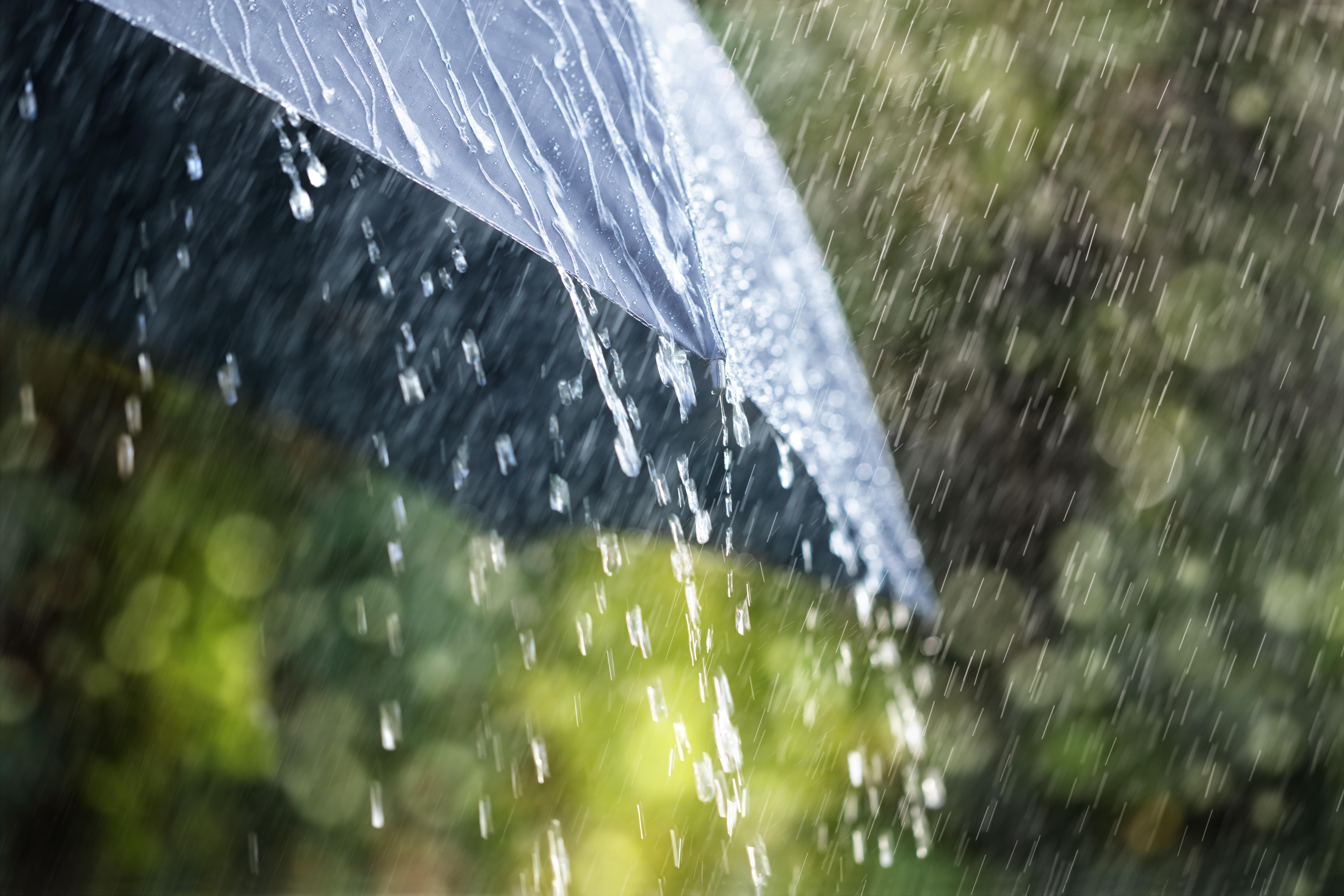 Cod gaben și portocaliu de ploi torențiale în jumătatea estică a țării