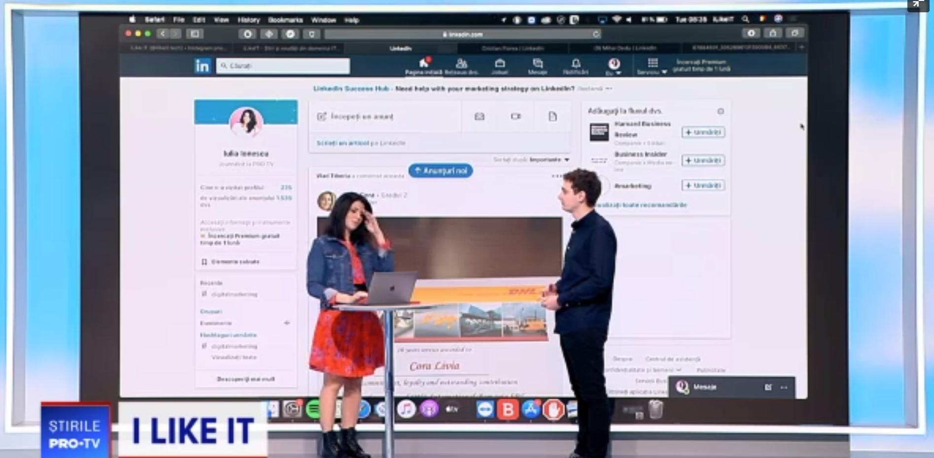 ILikeIT: LinkedIn, platforma ideală pentru cei care își caută un loc de muncă