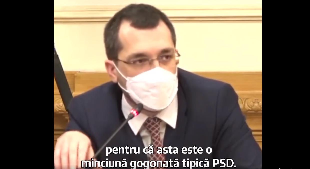 """Vlad Voiculescu, despre cei 21 de consilieri ai săi: """"Este o minciună gogonată tipică PSD"""""""