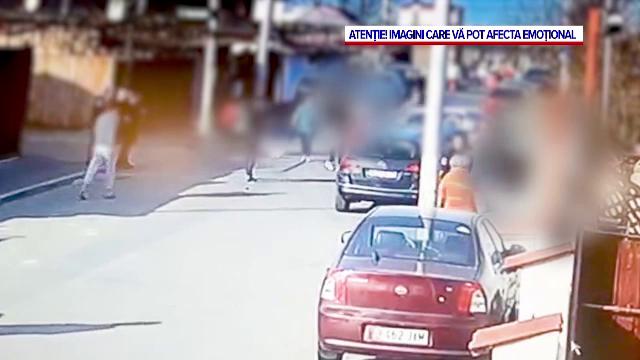 Momentul accidentului din cartierul Andronache, surprins de camerele de supraveghere. VIDEO