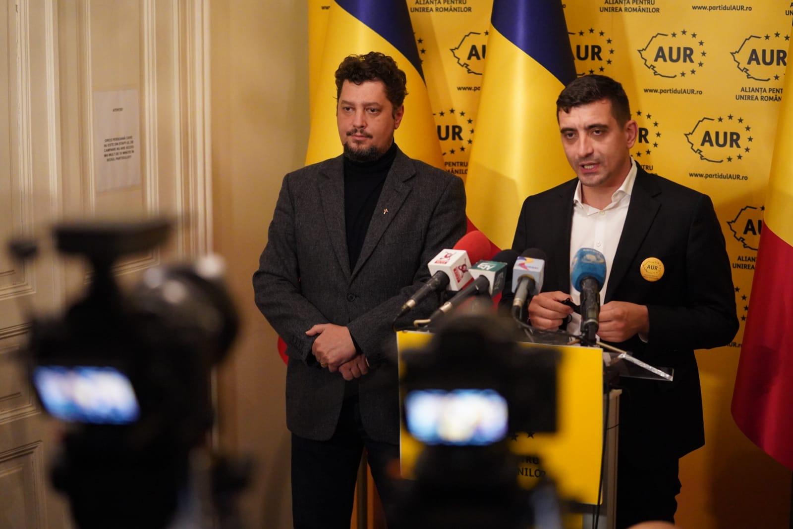 """AUR a anunţat înscrierea în partid a doi dintre fondatorii USR: """"Au decis să se alăture"""""""