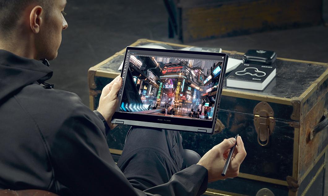 (P) ROG Flow X13: Laptopul de gaming ce îți poate crește productivitatea profesională