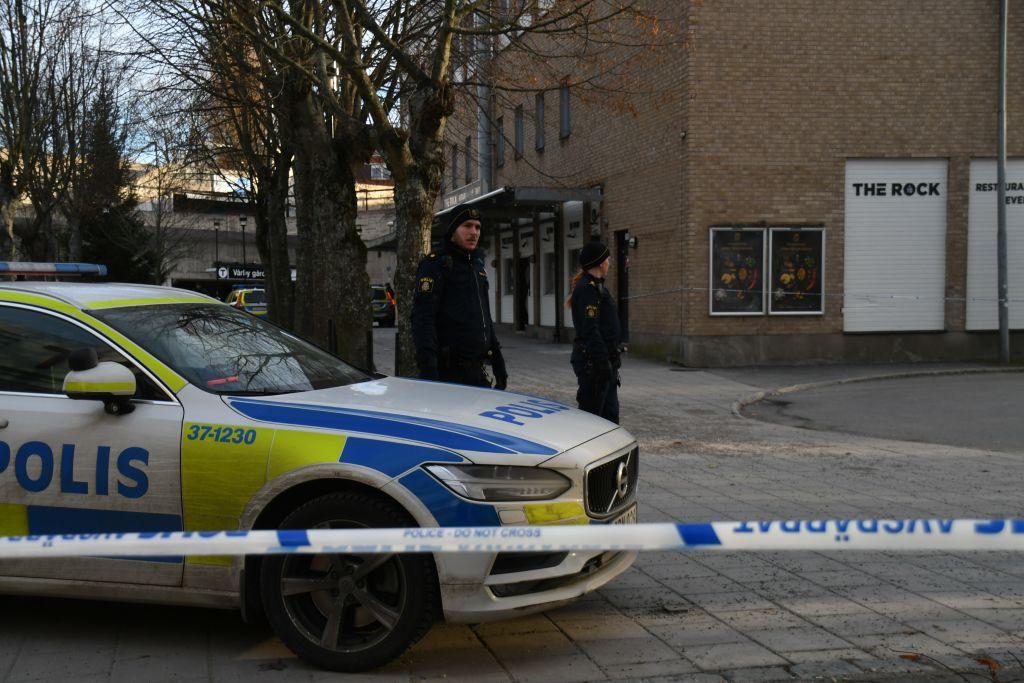 Cel puțin opt persoane, rănite într-un presupus atac terorist în Suedia
