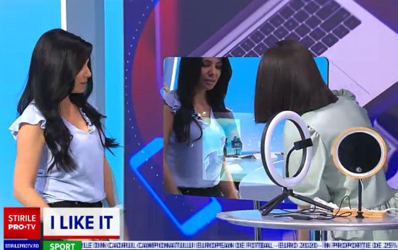 Oglinzile inteligente, testate de Corina Caragea la ILikeIT. Cum pot ajuta la percepția realității