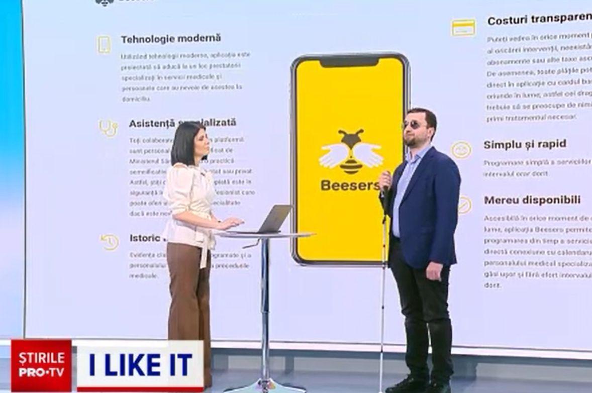 Beesers, aplicația care îți aduce serviciile medicale acasă. A fost gândită pentru românii din diaspora cu rude în țară