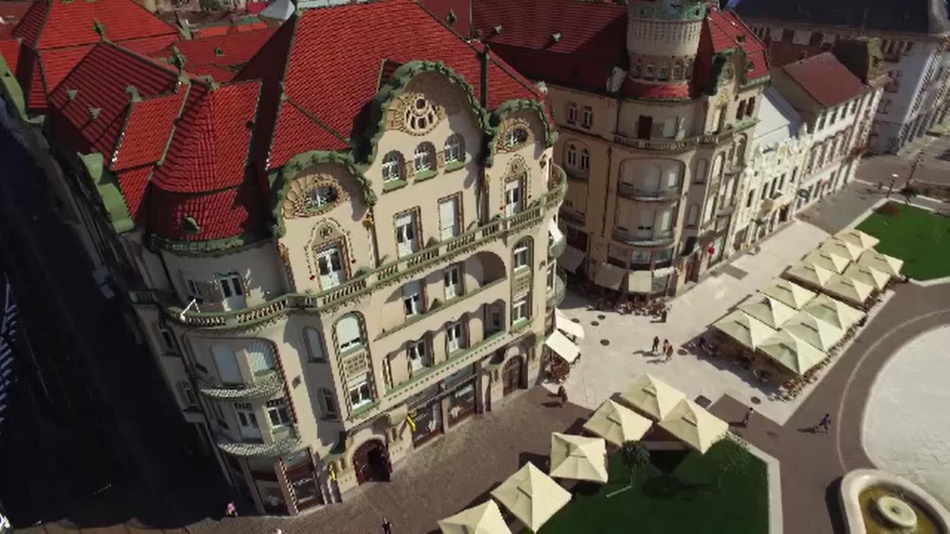 Oradea a urcat în 2020 pe locul al şaselea în topul destinaţiilor atractive de la noi