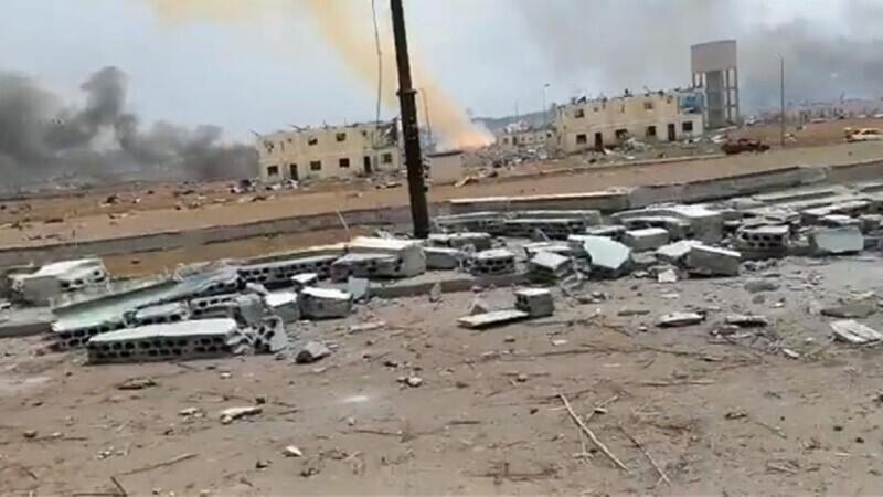 Explozii la un depozit de dinamită. Cartiere întregi au fost spulberate. Atenție! Imagini cu un puternic impact emotional