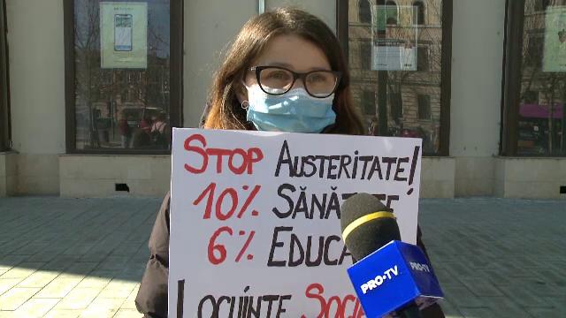 """De 8 Martie, femeile din Cluj au atras atenția asupra problemelor pe care le-a adus pandemie. """"E vorba de drepturi"""""""