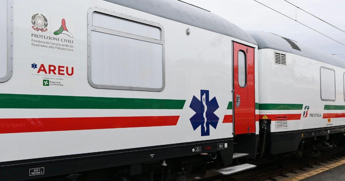 Italia are un tren ATI, în ziua în care a atins 100.000 de morți din cauza Covid. Poate circula prin toată Europa