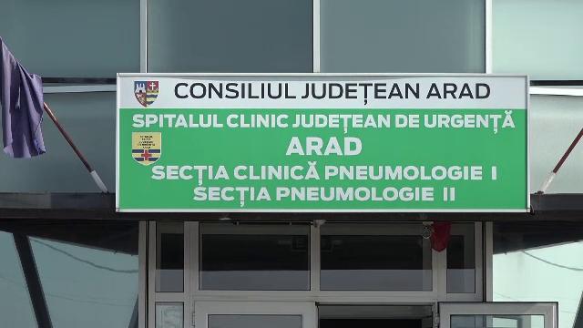 Un pacient Covid de la Spitalul Județean Arad a sărit pe geam de la ATI, cu masca de oxigen pe față. Motivul este incredibil