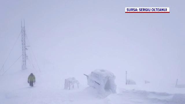 Avertismentul salvamontiștilor, după ninsorile care au căzut în ultima perioadă