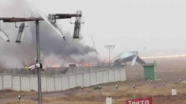 Un avion militar s-a prăbușit în Kazahstan. Patru persoane au murit