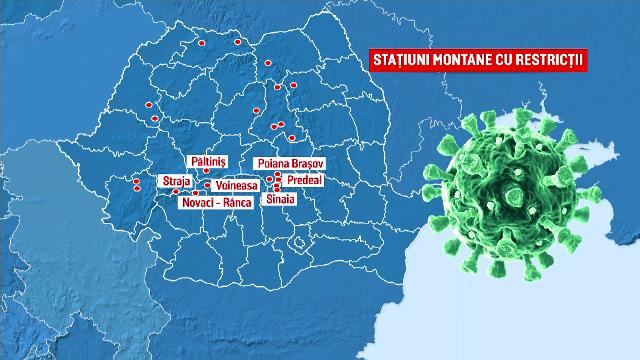 Stațiunile montane în care au fost impuse noi restricții. Hotelierii trebuie să lase o treime din camere libere