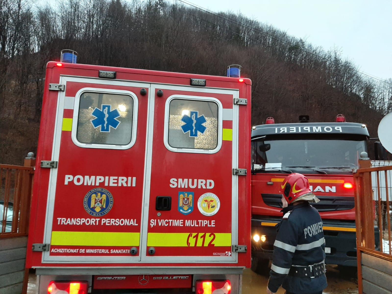 Incendiu la Spitalul de Psihiatrie din orașul Cavnic a fost cauzat de o țigară aruncată în aerisirea toaletei