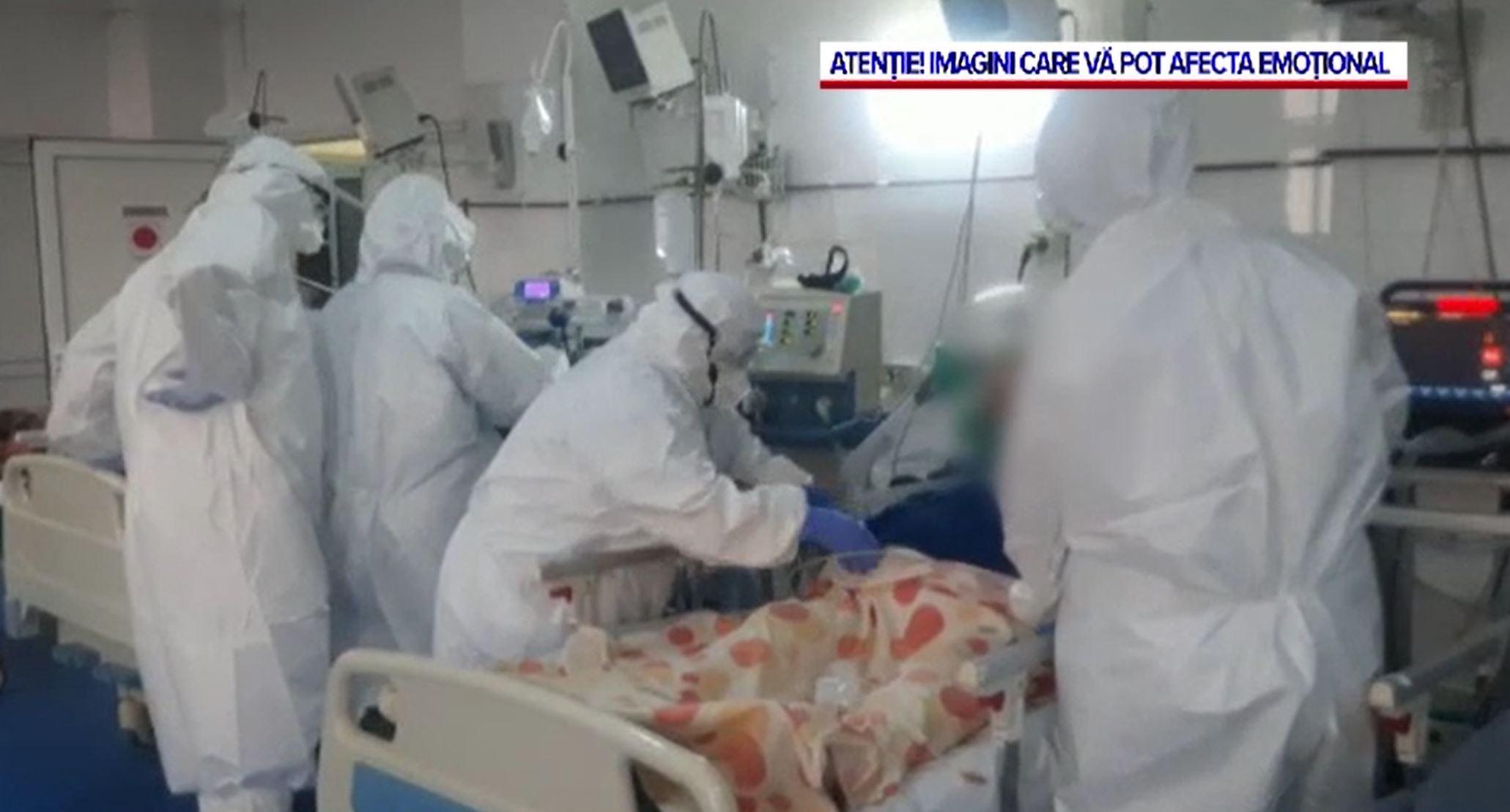 Impactul dramatic al valului 3 de COVID: Tot mai mulți pacienți ajung în stare gravă la ATI