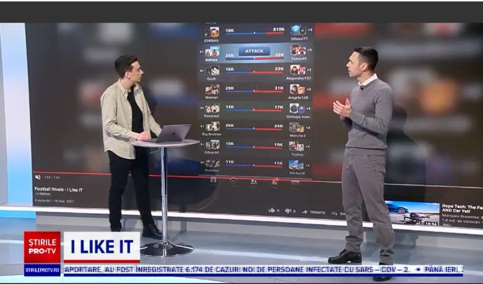 iLikeIT. Cum a ajuns jocul românesc Football Rivals un mare succes