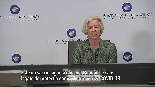 Vaccinul AstraZeneca, declarat