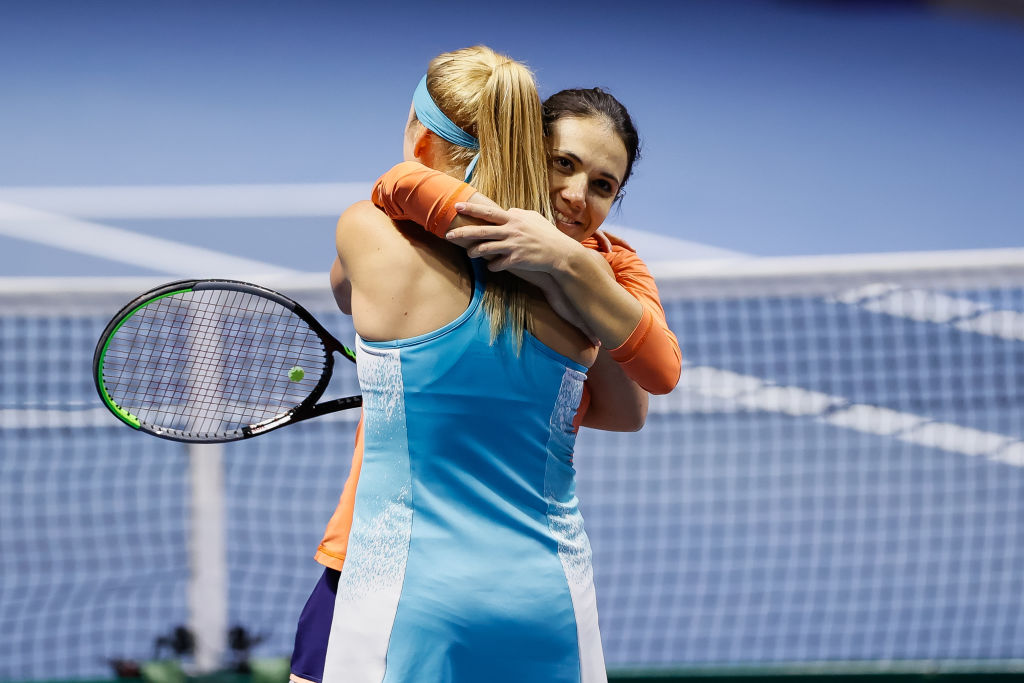 Raluca Olaru, învingătoare în Rusia. Românca a câștigat titlul la dublu la Sankt Petersburg, alături de Nadia Kicenok
