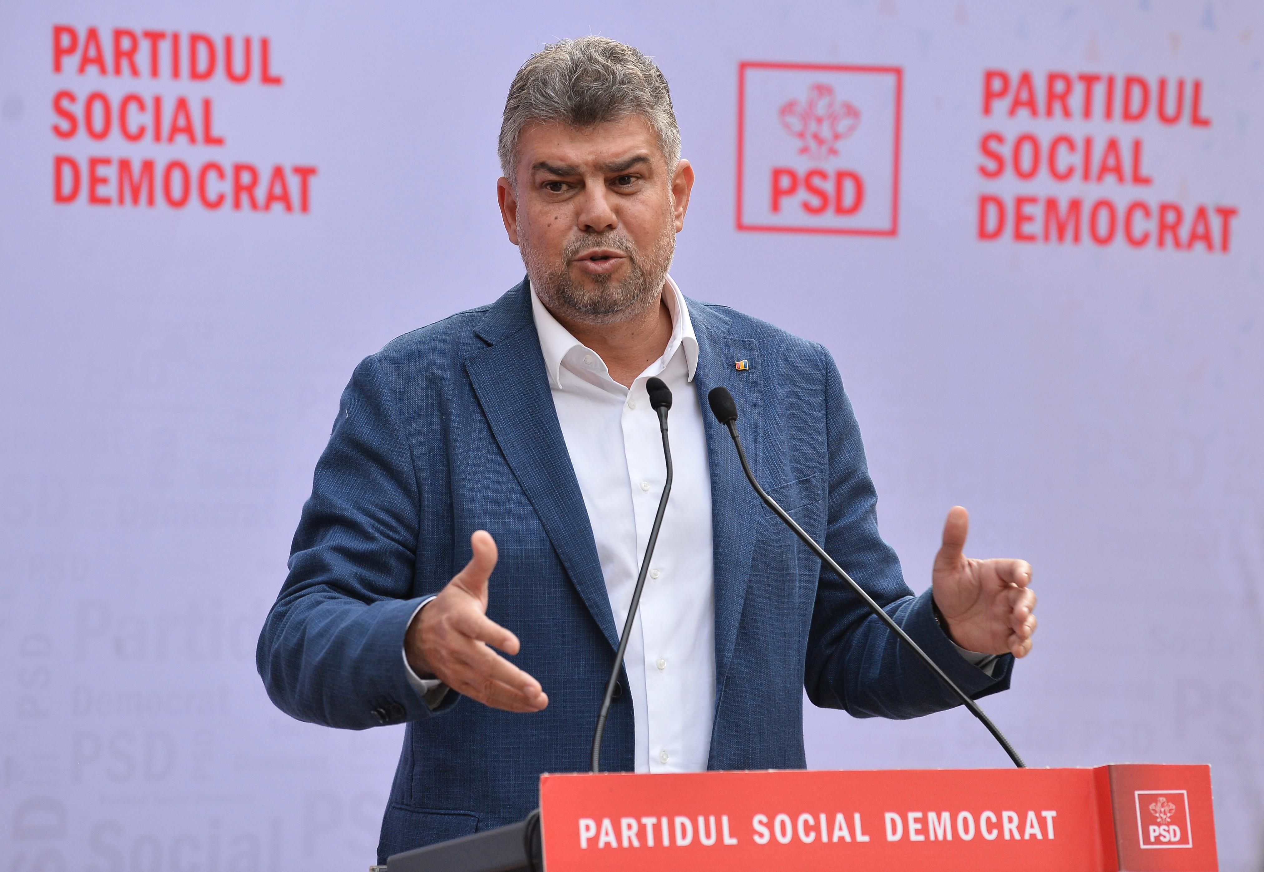"""Marcel Ciolacu caută sprijin pentru o moțiune PSD la AUR și minorități. """"Sunt şi proşti, sunt şi hoţi şi mincinoşi"""""""