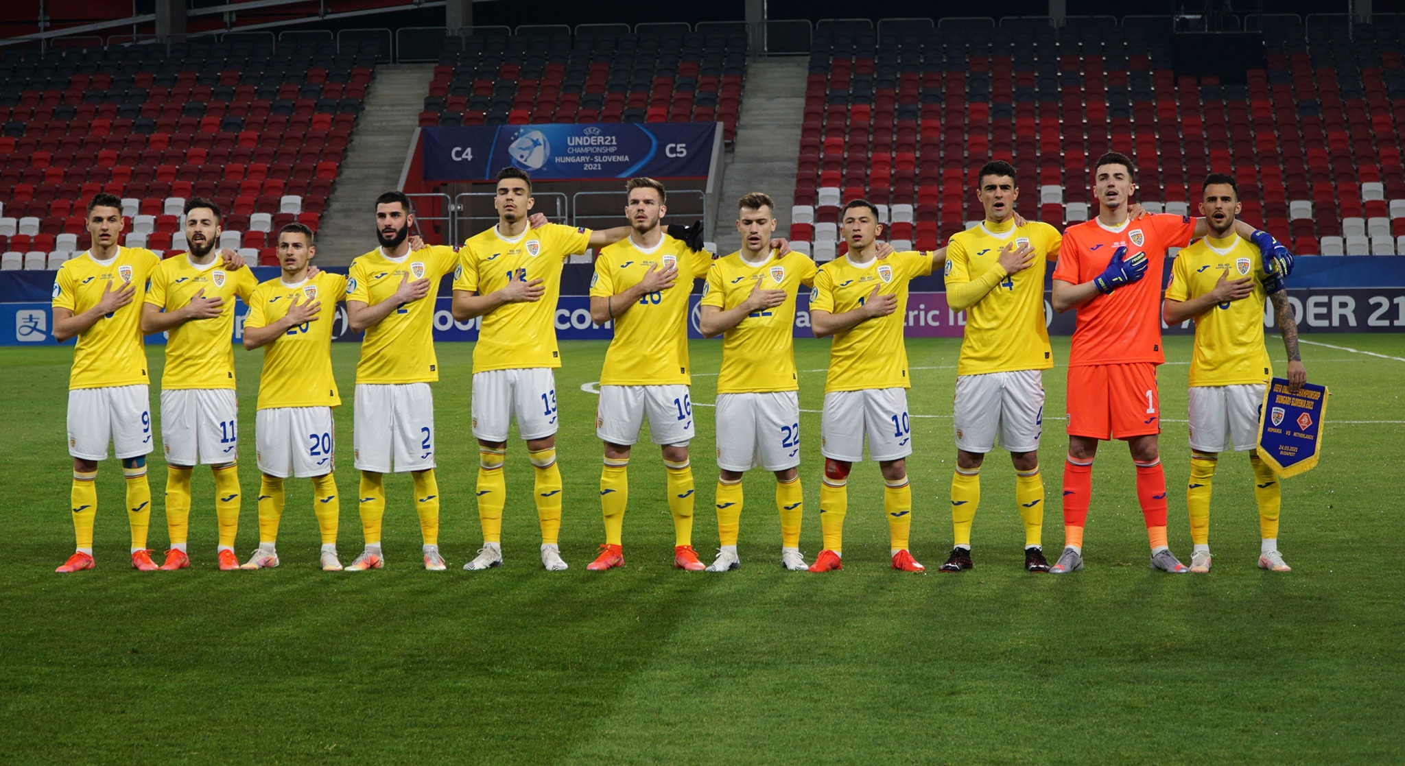 Campionatul European: România U21- Olanda U21 1-1. Debut încurajator pentru tricolori