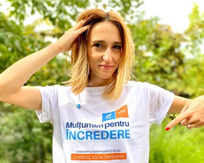 Ana Munteanu, consilier local USR, suspendată pentru un an din partid. Care este motivul