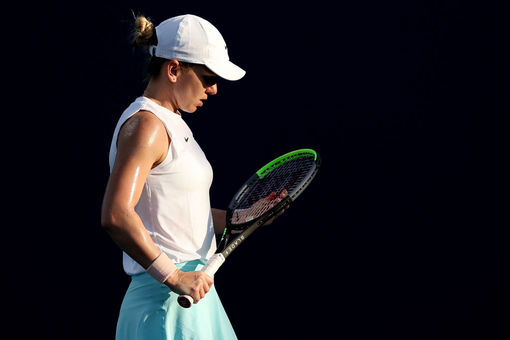 """Simona Halep s-a retras de la Miami: """"Accidentarea nu mă lasă să joc așa cum aș fi dorit"""""""
