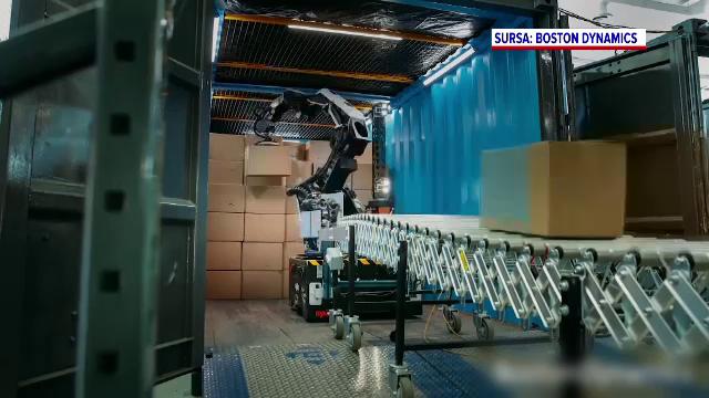 O companie americană a prezentat un nou robot, care poate prelua o parte dintre sarcinile angajaților