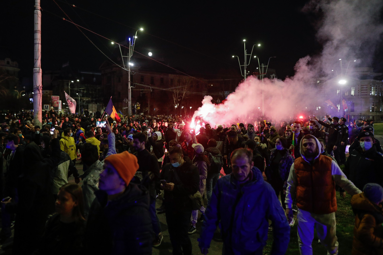 Sancțiunile după protestele din țară.