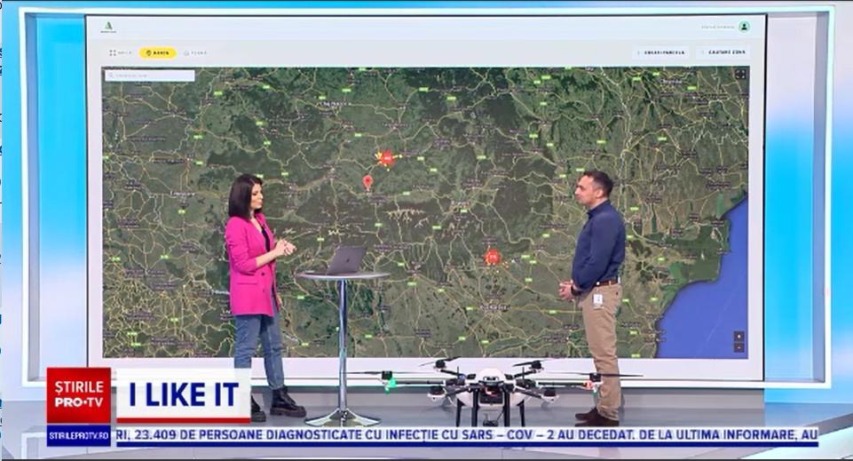 """iLikeIT. Agricultura făcută cu drone: """"Terenurile din România sunt foarte bune, extraordinar de productive"""""""