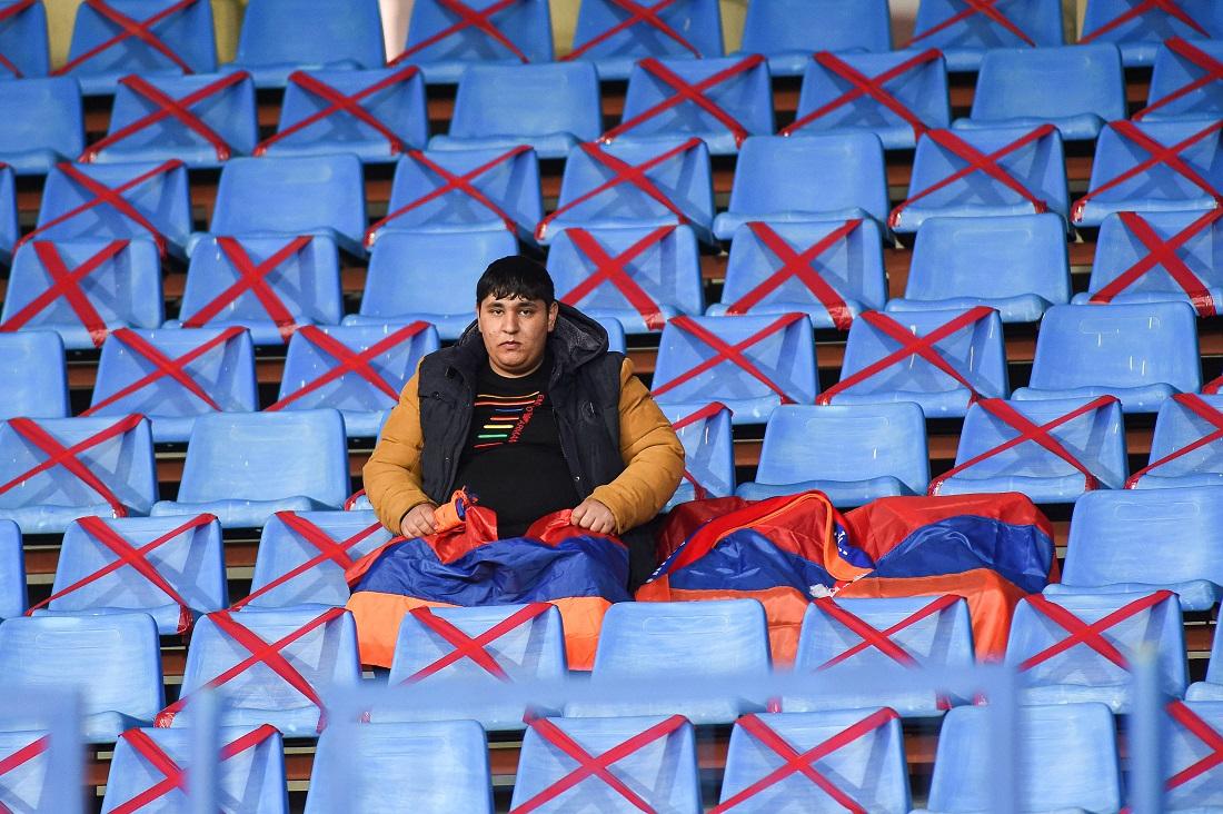 Banner emoționant la Armenia - România. Meciul este transmis în direct de Pro X, de la ora 19:00