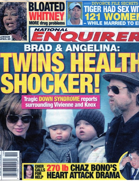 Gemenii Angelinei Jolie sufera de sindromul Down?!?